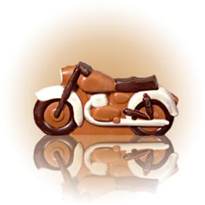 czekoladowy motocykl